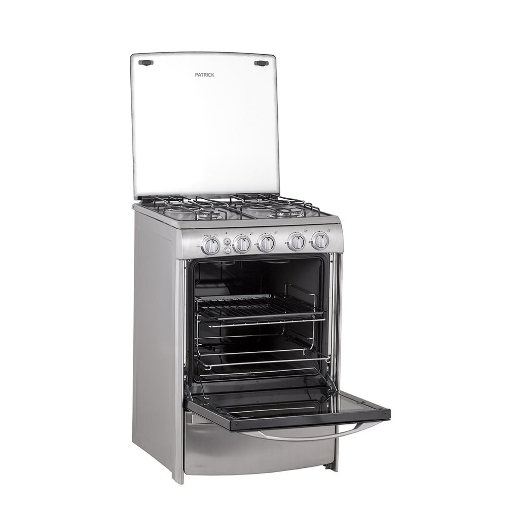 Cocina 56 CM Acero Inoxidable Patrick   CPS9556IVS ...